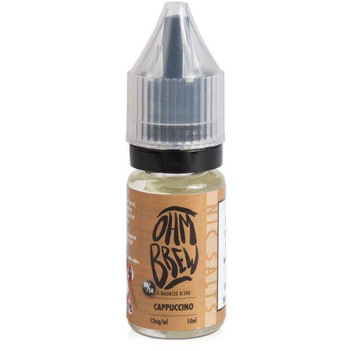 Ohm Brew 10ml Cappuccino Eliquid