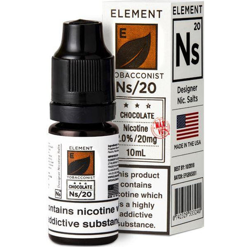 Element NS20+NS10 10ml Chocolate Tobacco Eliquid