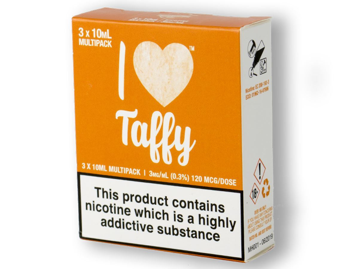 I Love Taffy Eliquid By Mad Hatter