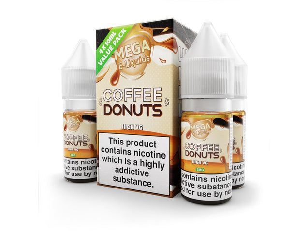 Coffeeand Donuts Eliquid By Mega