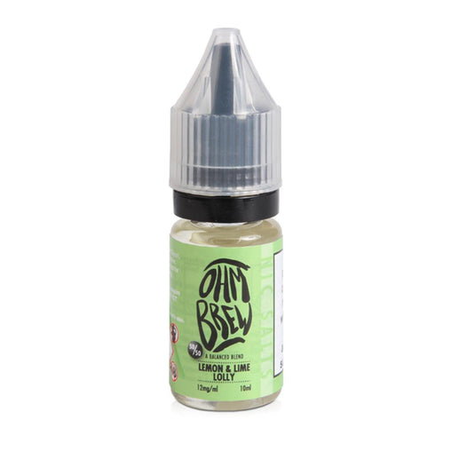 Ohm Brew 10ml Lemon & Lime Lolly Eliquid