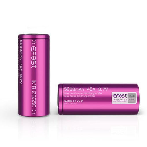 IMR 26650 5000mah Battery By Efest