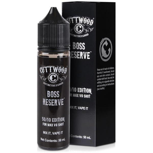 Boss Reserve Eliquid By Classic Cuttwood
