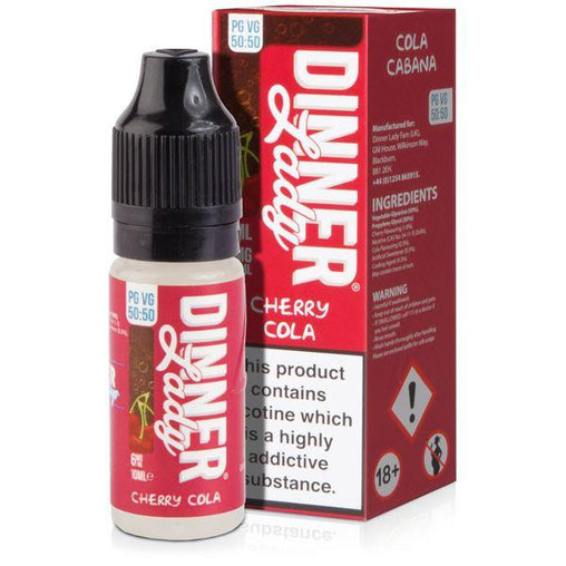 Cherry Cola Eliquid By Dinner Lady