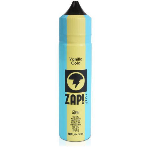 Vanilla Cola  Eliquid By ZAP