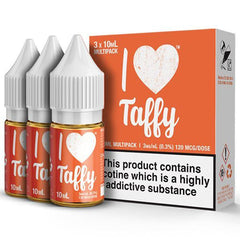 I Love Taffy 30ml Eliquid By Mad Hatter