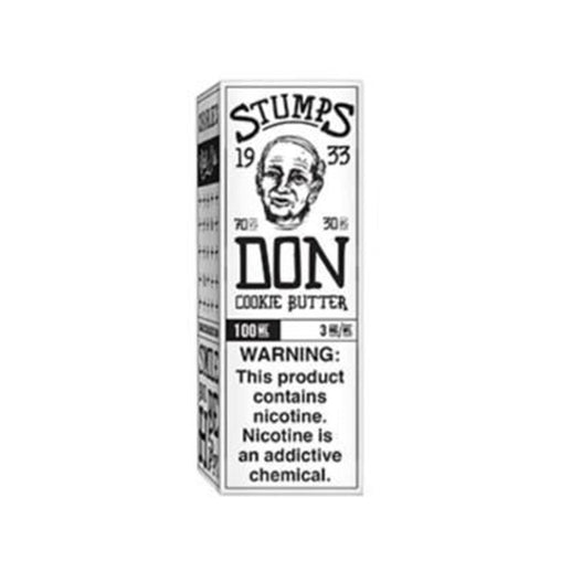 Don - Cookie Butter 100ml Eliquid Stumps by Charlie's Chalk Dust