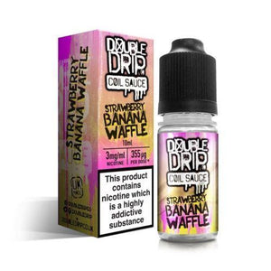 Strawberry Banana Waffle Eliquid By Double Drip Coil
