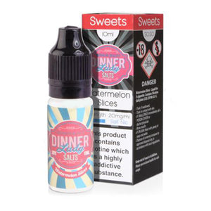 Watermelon Slices Nicotine E-Liquid by Dinner Lady Salt