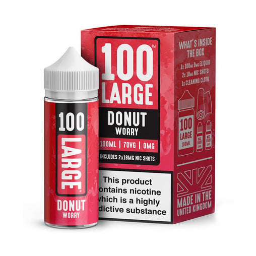 Donut Eliquid By Large Juice