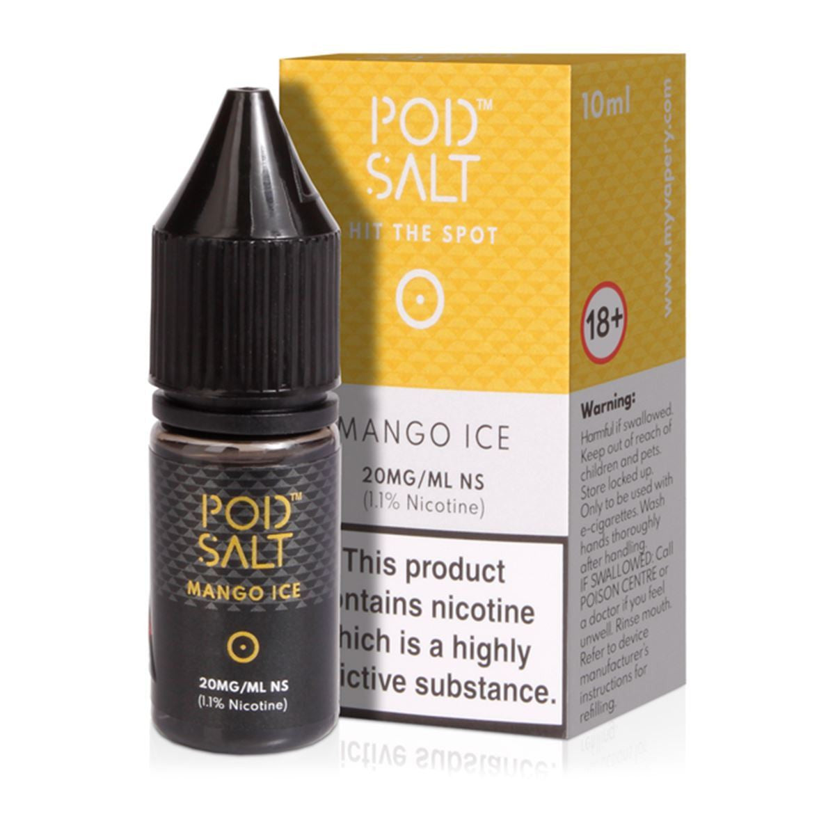 Mango Ice Eliquid By Dinner Lady