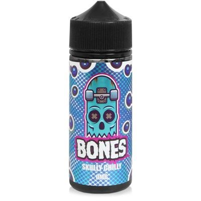 Skully Chilly 100ml Eliquid Wick Liquor Bones