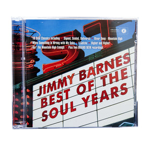 'Best of the Soul Years' CD - Jimmy Barnes Online Store