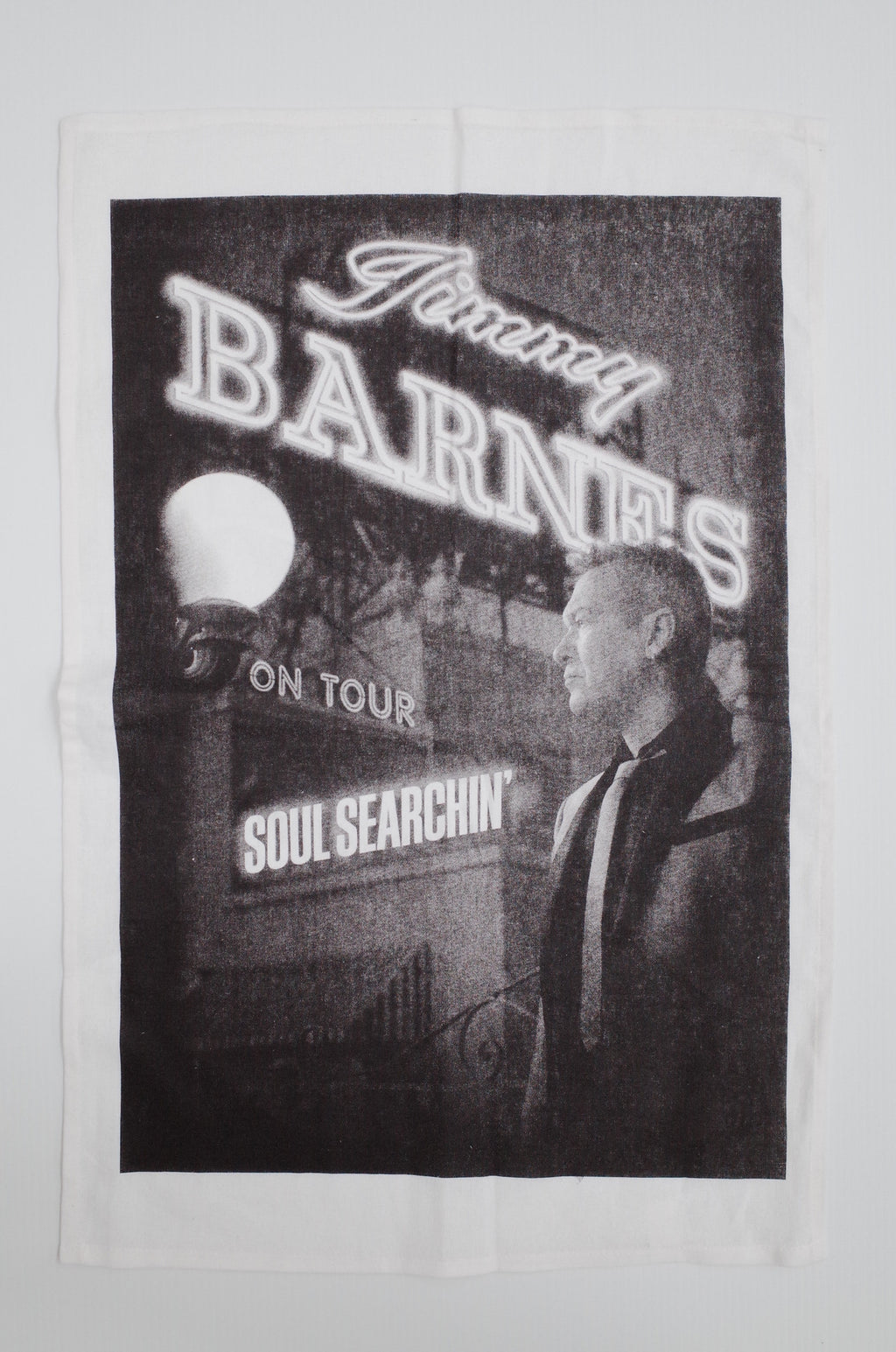 'Soul Searchin' Tea Towel - Jimmy Barnes Online Store