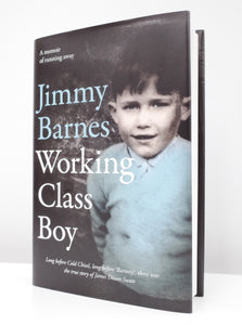 'Working Class Boy' Book - Signed Copy! - Jimmy Barnes Online Store