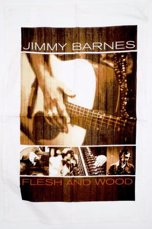 'Flesh and Wood' Tea Towel - Jimmy Barnes Online Store