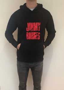 Jimmy Barnes Hoodie (Red Logo Embroidery) - Jimmy Barnes Online Store