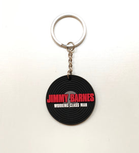 Vinyl shaped Keyring - Jimmy Barnes Online Store