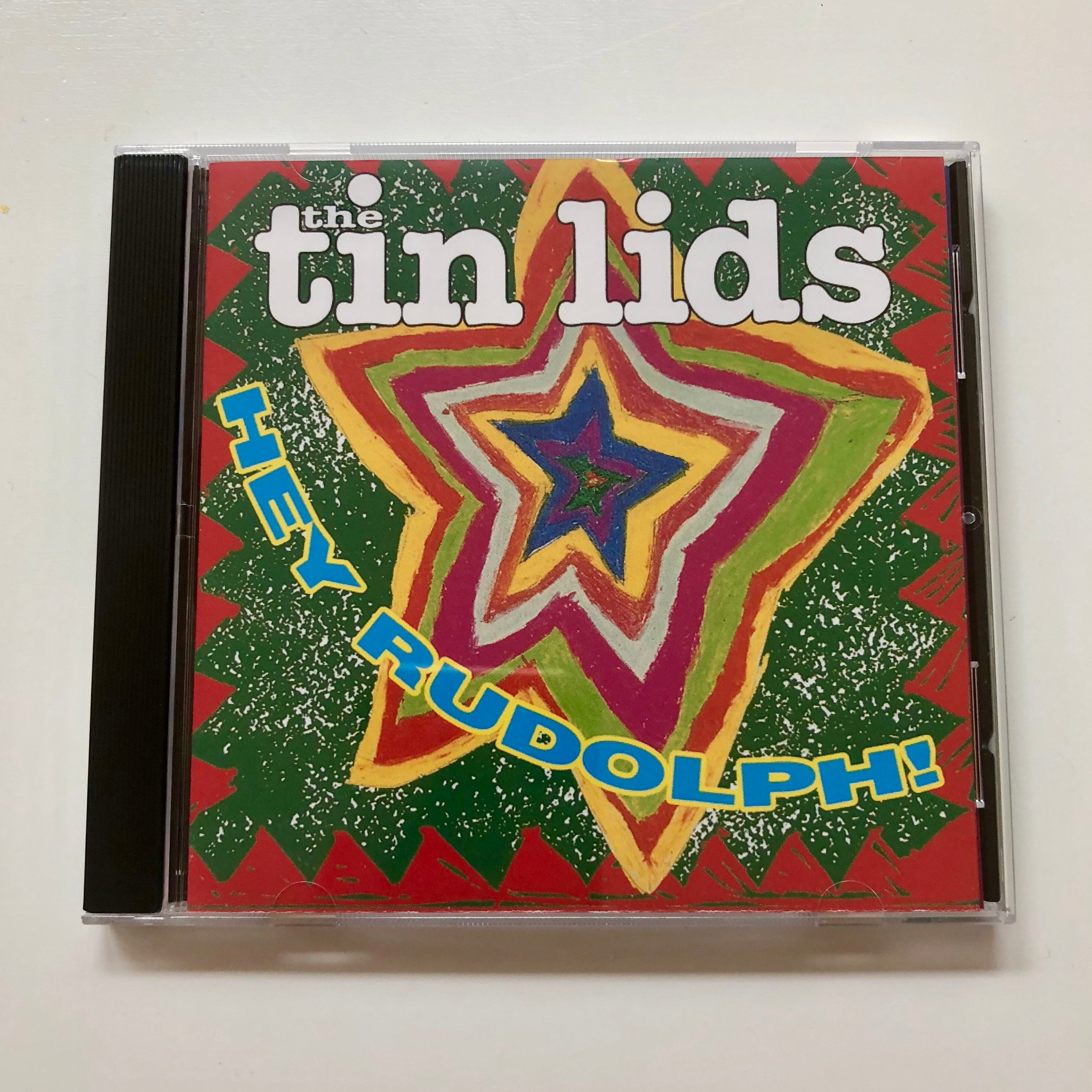 'Hey Rudolph!' CD  ( The Tin Lids )