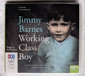 Working Class Boy Audiobook CD - Jimmy Barnes Online Store