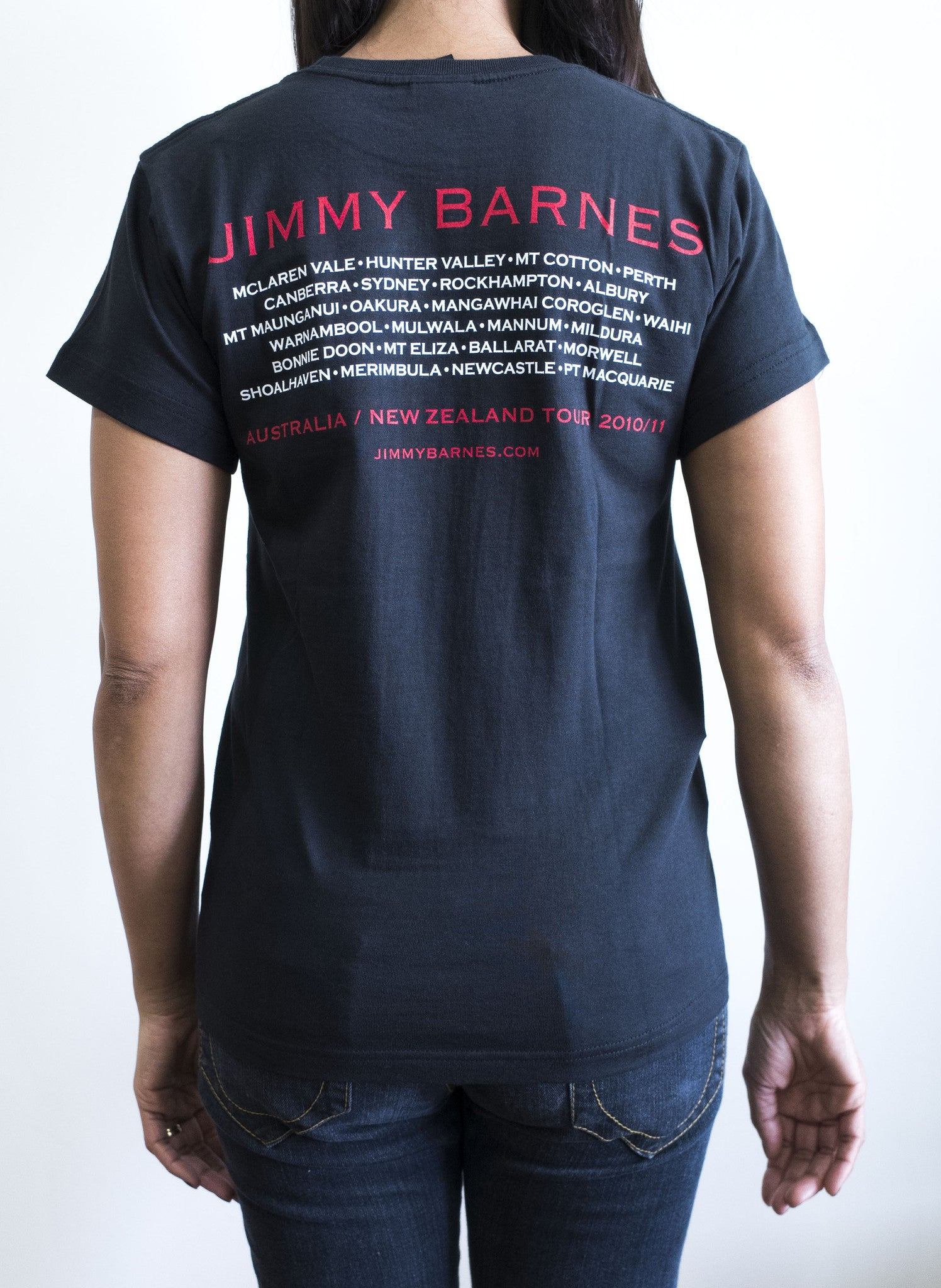'Rage and Ruin' Tour T-Shirt - Jimmy Barnes Online Store