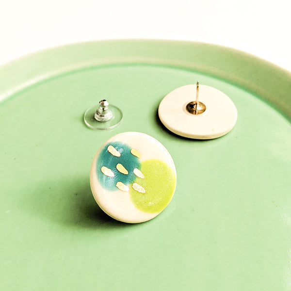 Spring Air Statement Studs - October Forever