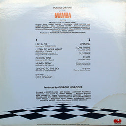 Mamba (Original Motion Picture Soundtrack)