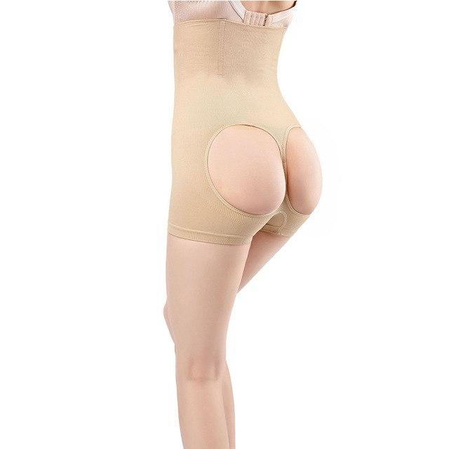 Mid-Thigh Brief Lifting Shaper - Nude