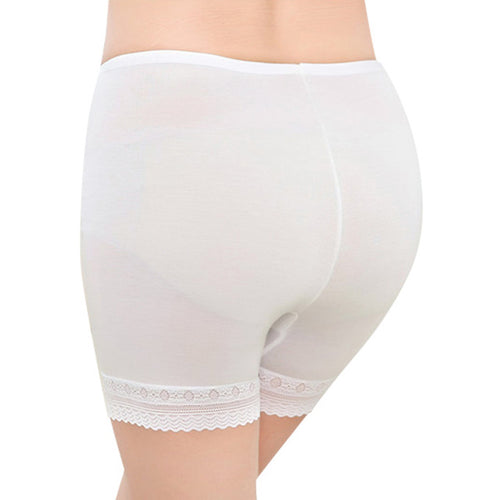 Seamless Shaping Shorts - White