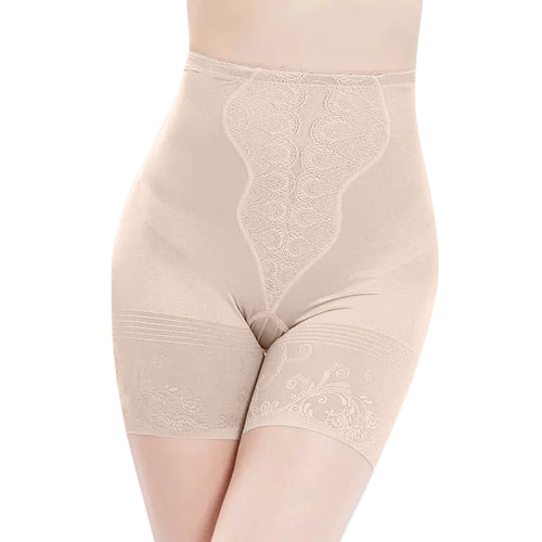 Smoothing Firm-Control Waist and Thigh Slimmer - Nude
