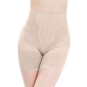High-Waist Body Shaper - Nude