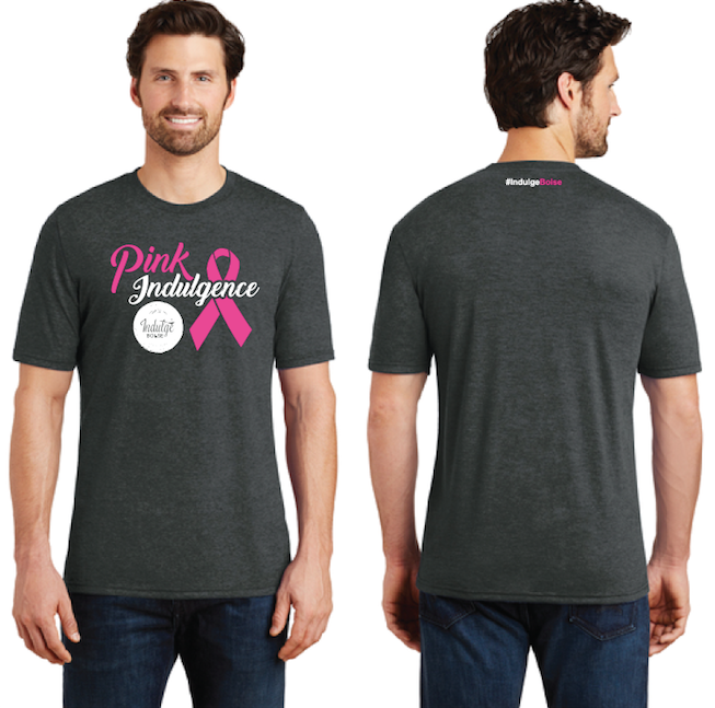 Men's Pink Indulgence by Indulge Boise in Black Forest for Breast Cancer Awareness Month
