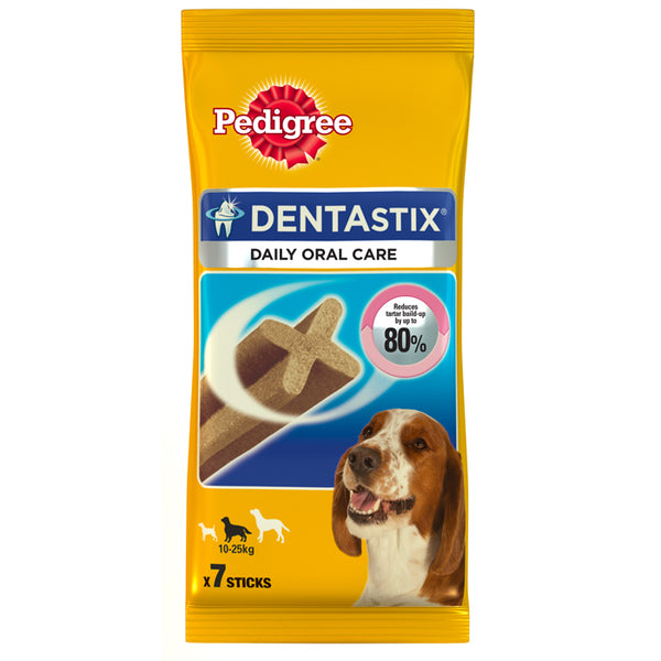PEDIGREE DENTASTIX MEDIUM 180 gr (7 TMX)