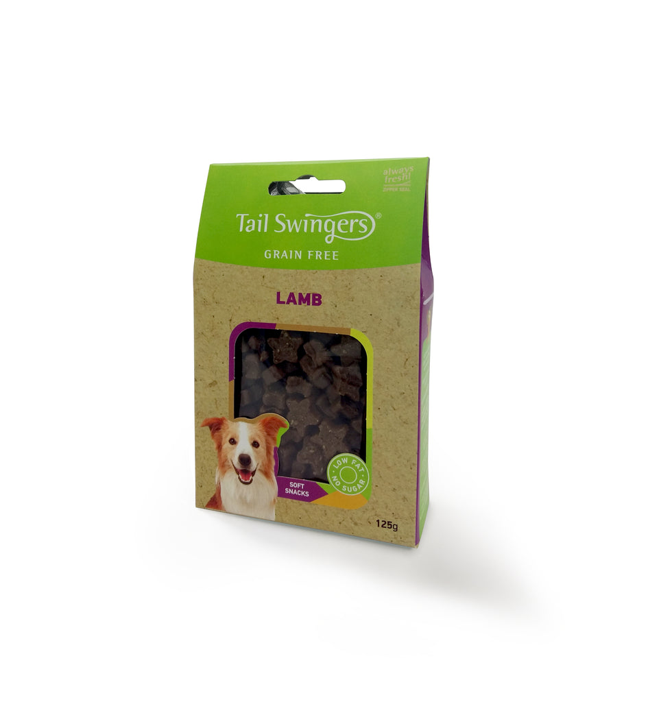 TAIL SWINGERS SOFT SNACKS GRAIN FREE ΜΕ ΑΡΝΙ