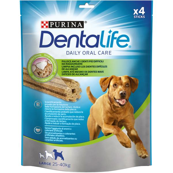 PURINA DENTALIFE LARGE 142gr 4 STICKS