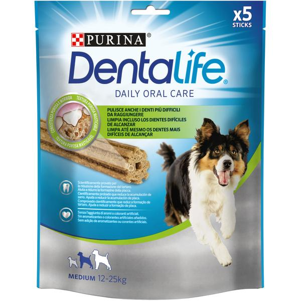 PURINA DENTALIFE MEDIUM 115gr 5 STICKS