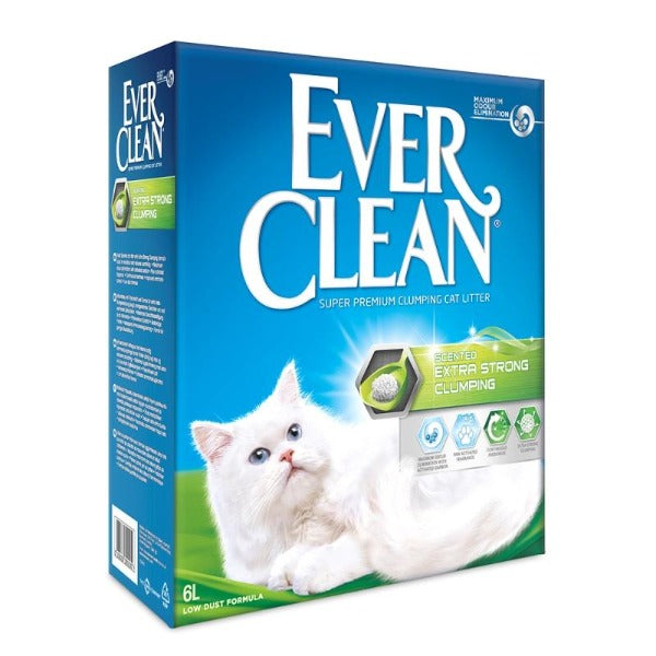 EVER CLEAN Extra Strong Clumping Scented 6L