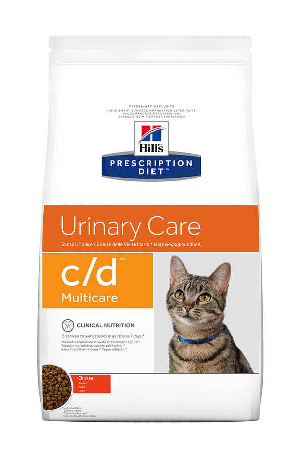 HILL'S PRESCRIPTION DIET c/d MULTICARE URINARY CARE ΓΙΑ ΓΑΤΕΣ ΜΕ ΚΟΤΟΠΟΥΛΟ 400gr