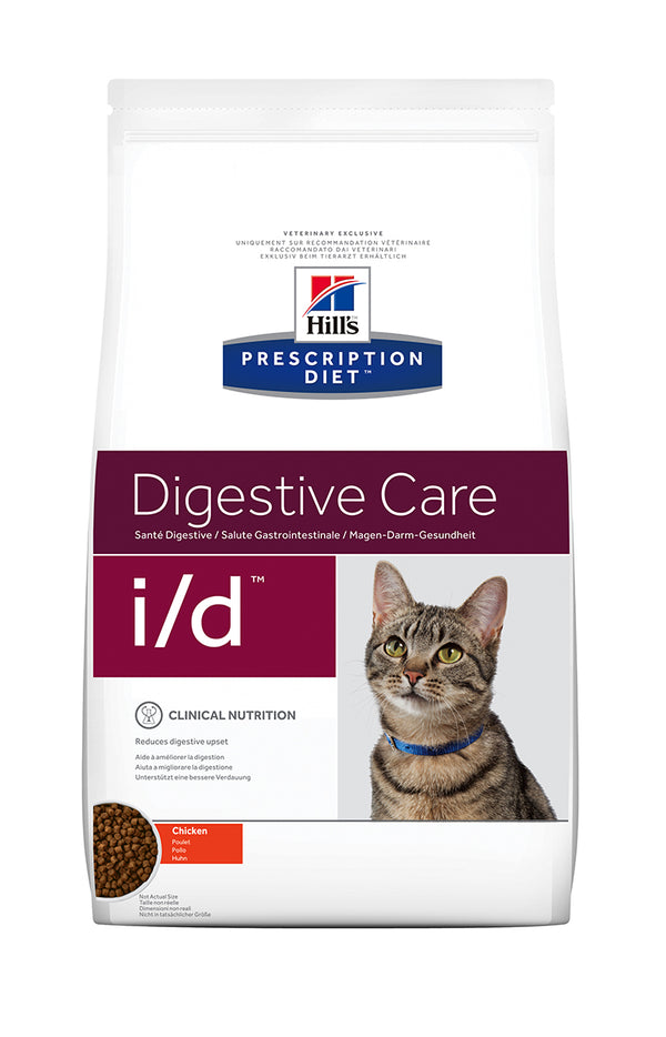 HILL'S PRESCRIPTION DIET i/d DIGESTIVE CARE ΓΙΑ ΓΑΤΕΣ ΜΕ ΚΟΤΟΠΟΥΛΟ 1.5kg