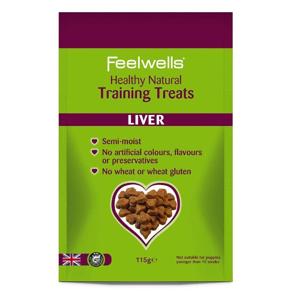 Feelwells Training Treats Liver ΛΙΧΟΥΔΙΕΣ ΣΚΥΛΟΥ 115gr