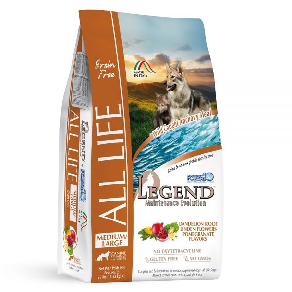 FORZA10 LEGEND ALL LIFE MEDIUM/LARGE 2.27kg