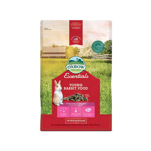 OXBOW ESSENTIALS ΠΛΗΡΗΣ ΤΡΟΦΗ JUNIOR RABBIT 2.27kg