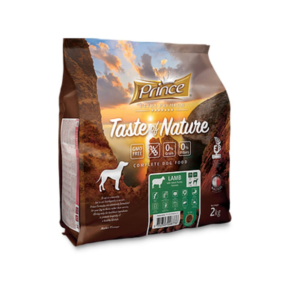 PRINCE Taste of Nature GRAIN FREE LAMB 2kg