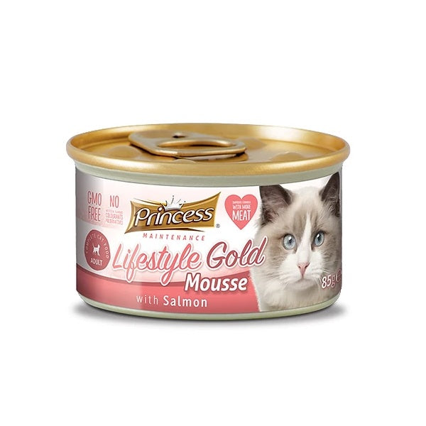 Princess Lifestyle Gold Mousse Σολομός 85g