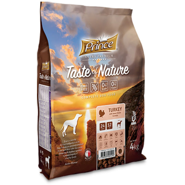 PRINCE Taste of Nature GRAIN FREE TURKEY 4kg