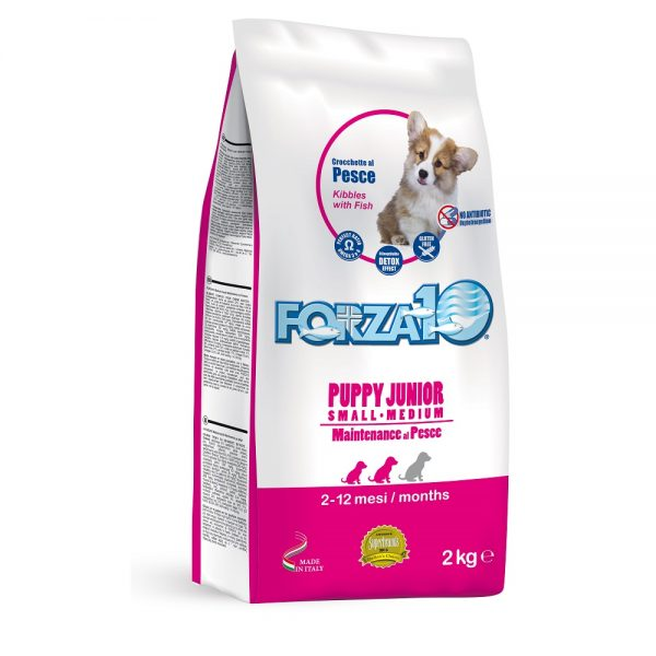 FORZA10 SMALL/MEDIUM PUPPY JUNIOR ΜΕ ΨΑΡΙ 2kg