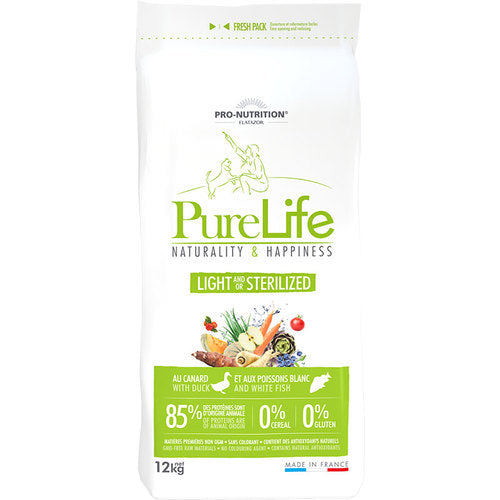 FLATAZOR PURE LIFE STERILISED/LIGHT GRAIN FREE