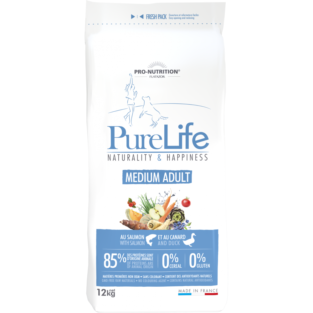 FLATAZOR PURE LIFE MEDIUM ADULT GRAIN FREE