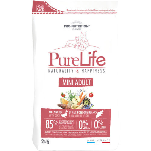 FLATAZOR PURE LIFE MINI ADULT GRAIN FREE