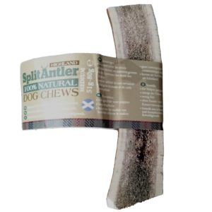 HIGHLAND DOG CHEWS ANTLER SPLIT ΚΕΡΑΤΟ ΕΛΑΦΙΟΥ ΜΙΣΟ MEDIUM 76-150gr